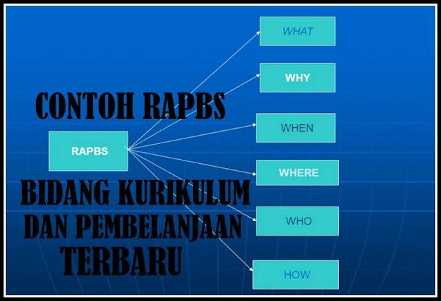 Download Contoh RAPBS Bidang Kurikulum Dan Pembelanjaan Terbaru