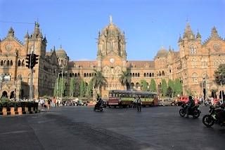 世界遺産チャトラパティ・シヴァージー・ターミナス駅(インド)写真