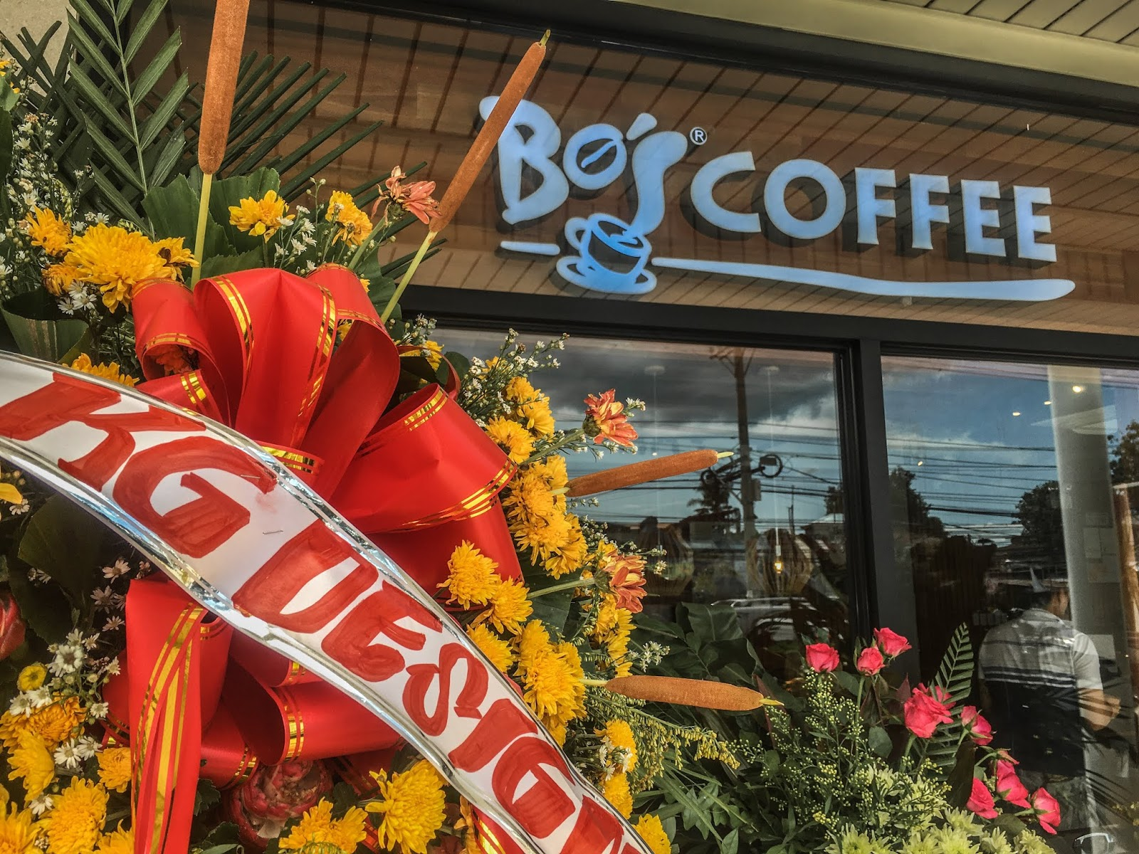 Bos Coffee Mactan Town Center Opening