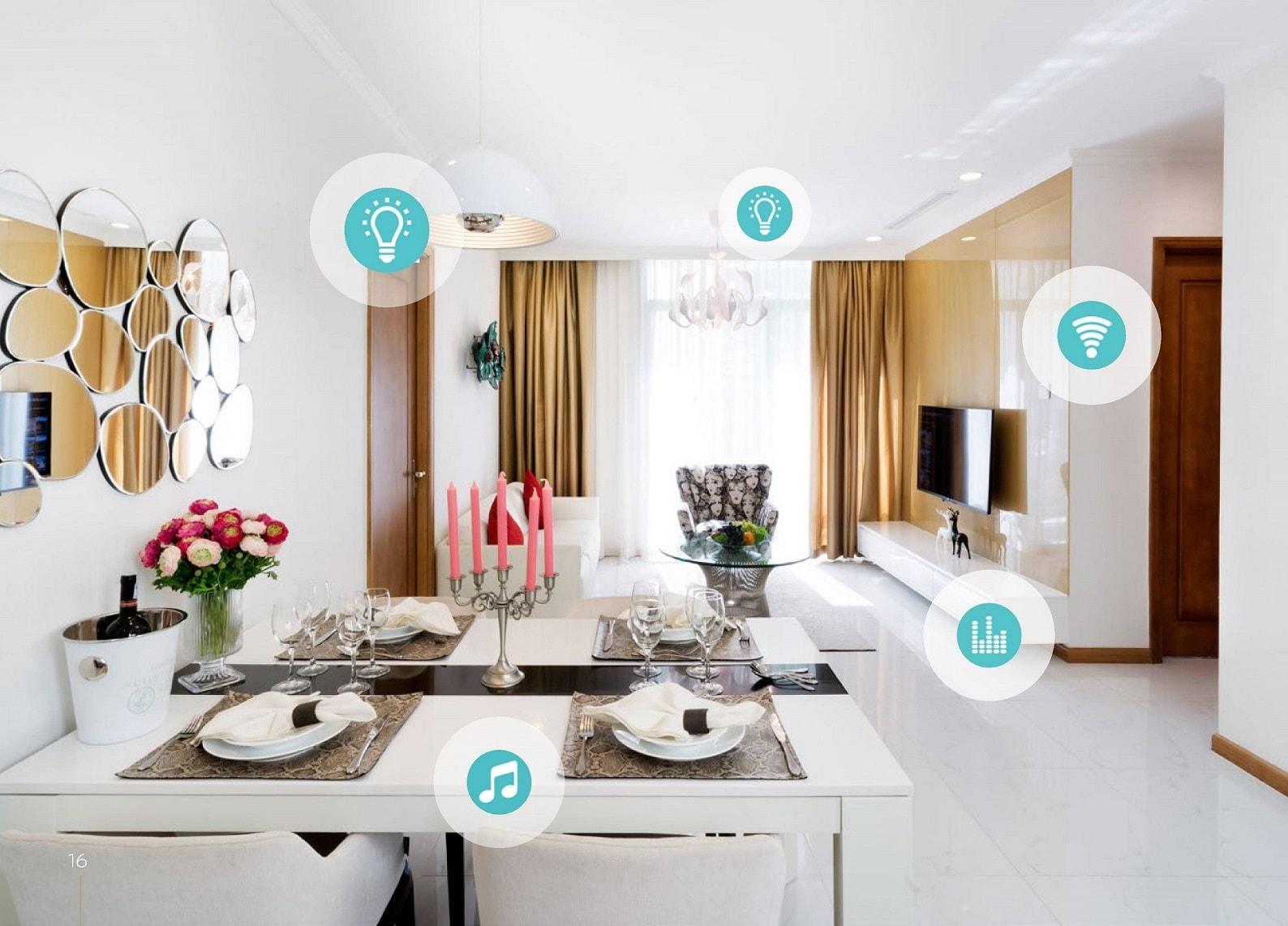 Thiết kế thông minh căn hộ Sunshine Garden