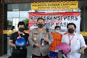 Satreskrim Polresta Bandarlampung Berhasil Tangkap 2 Tersangka Curas