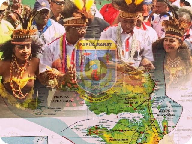 Dominggus Mandacan dan Mohammad Lakotani Pimpin Provinsi Papua Barat