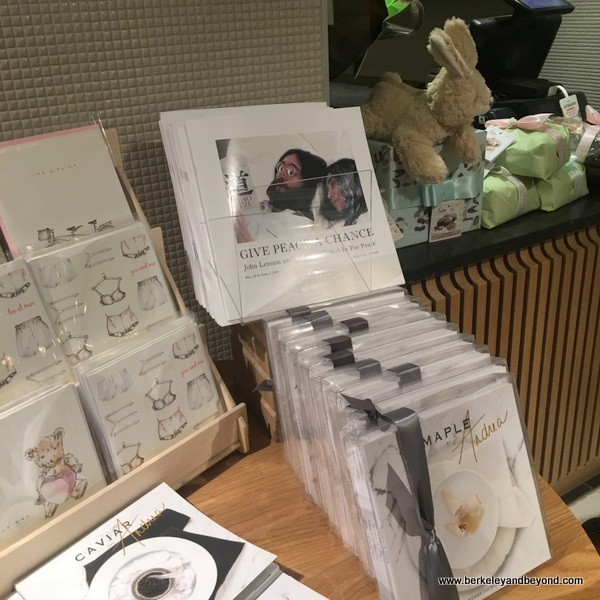 Marche Artisans gift shop at Fairmont Queen Elizabeth Hotel in Montreal, Canada