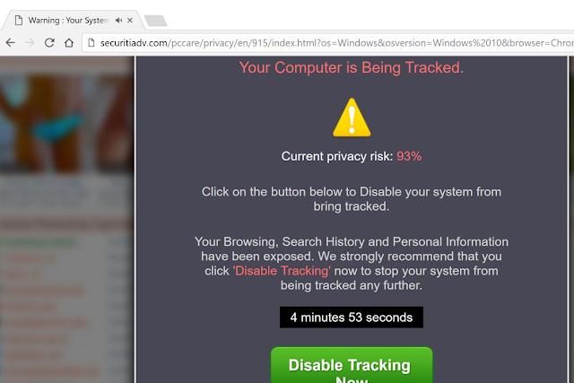Securitiadv.com (Falsas alertas)