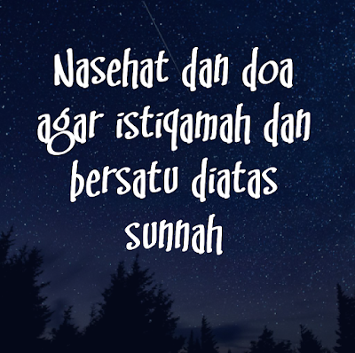 Story Whatsapp Islami Nasehat dan doa