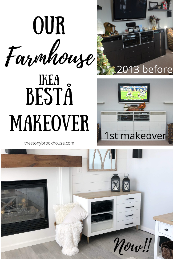 Our Farmhouse IKEA Bestå Makeover