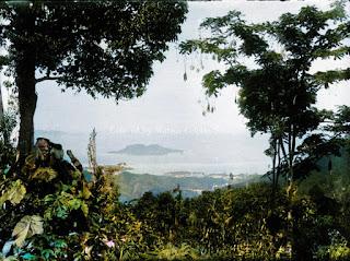 pemandangan pulau dan laut bagian dari tapanuli