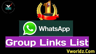 No.1 Whatsapp Group Links List | Join Whatsapp Group In 2021