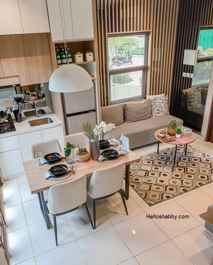 6 Best Small Open Plan Kitchen Living Room Design Ideas Helloshabby Com Interior And Exterior Solutions