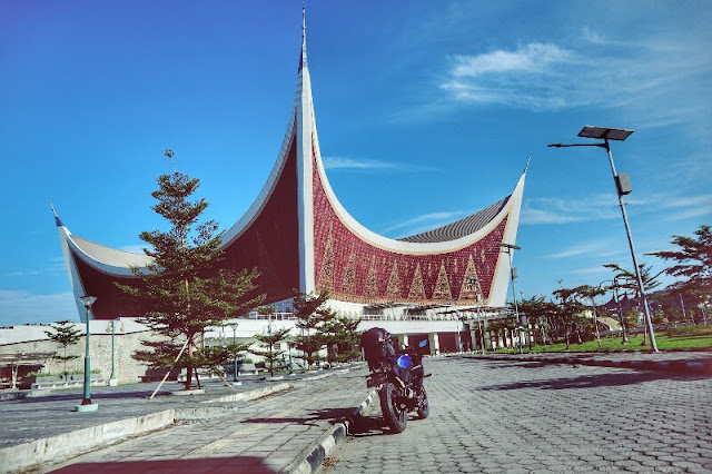 Foto Masjid Raya Sumatera Barat
