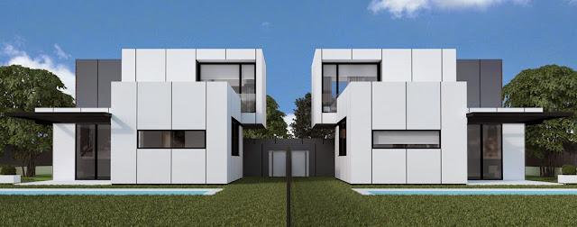 Vivienda modular Resan - Modelo J3 pareado