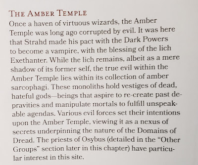 the Amber Temple
