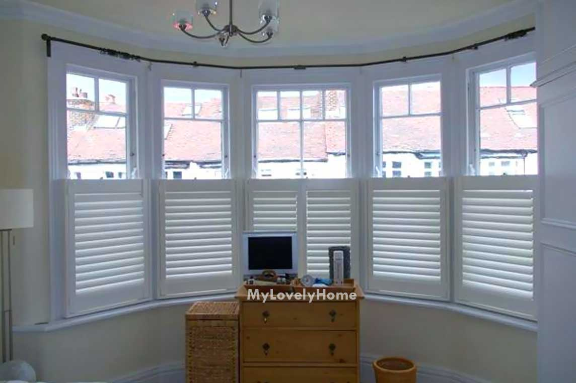 12 Sided Bay Window Curtain Rod Pictures Ideas