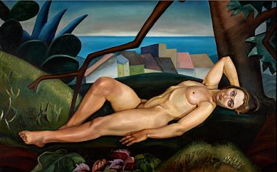 Femme sous un arbre (1931), Prudence Heward