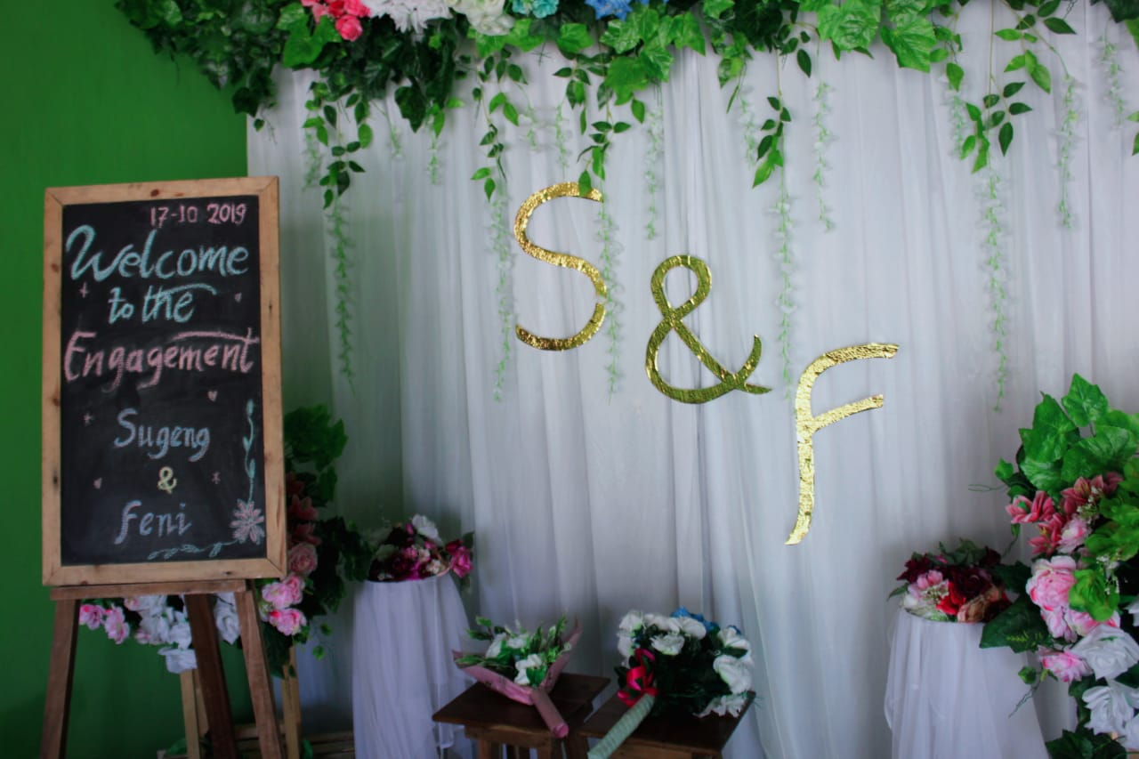 Backdrop Lamaran Nikahan Mau Sewa Background Pernikahan