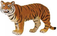 Bengal Tiger Toy Miniature