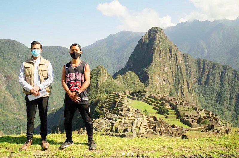 Perú abre Machu Picchu a solitario turista que esperó 7 meses para visitarla