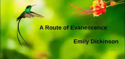 A Route of Evanescence With a revolving Wheel- A Resonance of Emerald A Rush of Cochineal-
