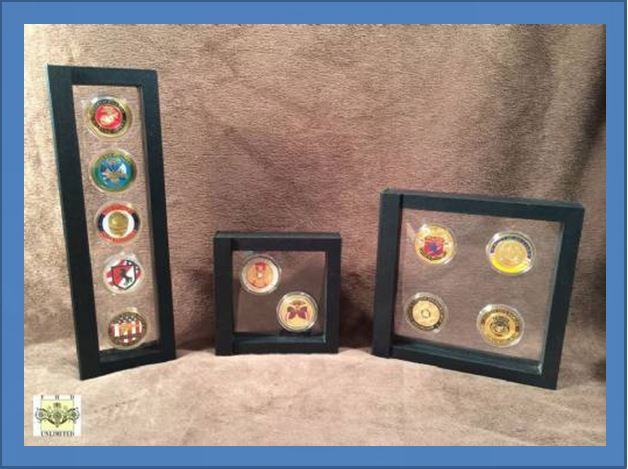 The One Caveat With Gl Dome Displays For Challenge Coins Is That They Have To Be Set On A Table Top Or Shelf More Versatile Display Still
