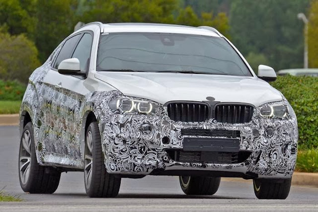 2015 BMW X6 Release Date And Spy Picture