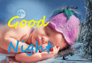 good night images cute baby