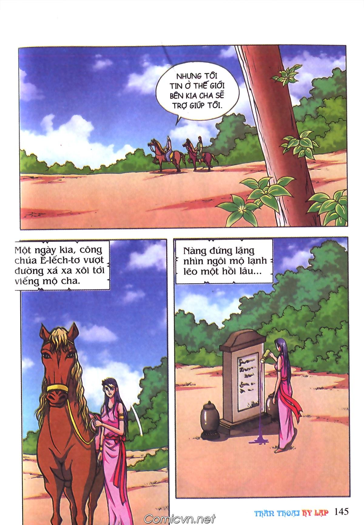 Thần Thoại Hy Lạp Màu - Chapter 70: Nàng Ê lếch tơ - Pic 38
