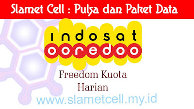 freedom kuota harian indosat