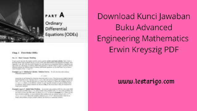 download kunci jawaban buku Advanced Enginering Mathematics PDF