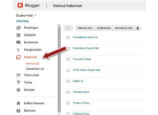 Membuat Halaman Blog