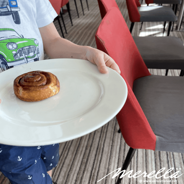 Silja Line aamiainen
