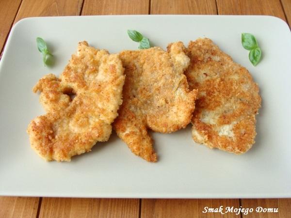 Kotlety z piersi kurczaka z serem Grana Padano
