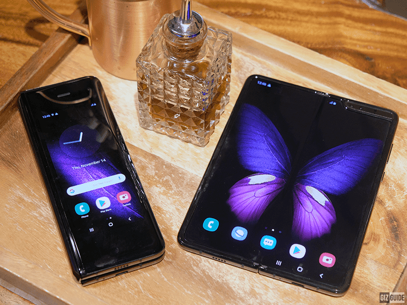 There is a version of the Galaxy Fold with 5G connectivity