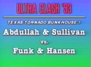 ECW Ultra Clash 1993 - Abdullah The Butcher & Kevin Sullivan vs. Terry Funk & Stan Hansen