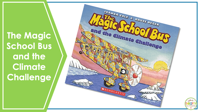 Looking for Earth Day books for upper elementary? Check out The Magic School Bus and the Climate Challenge.