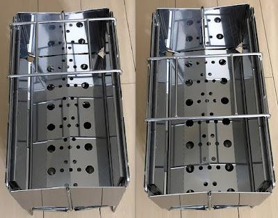 フォールディング ファイヤーピット モンベルの折り畳み式焚火台レビュー
