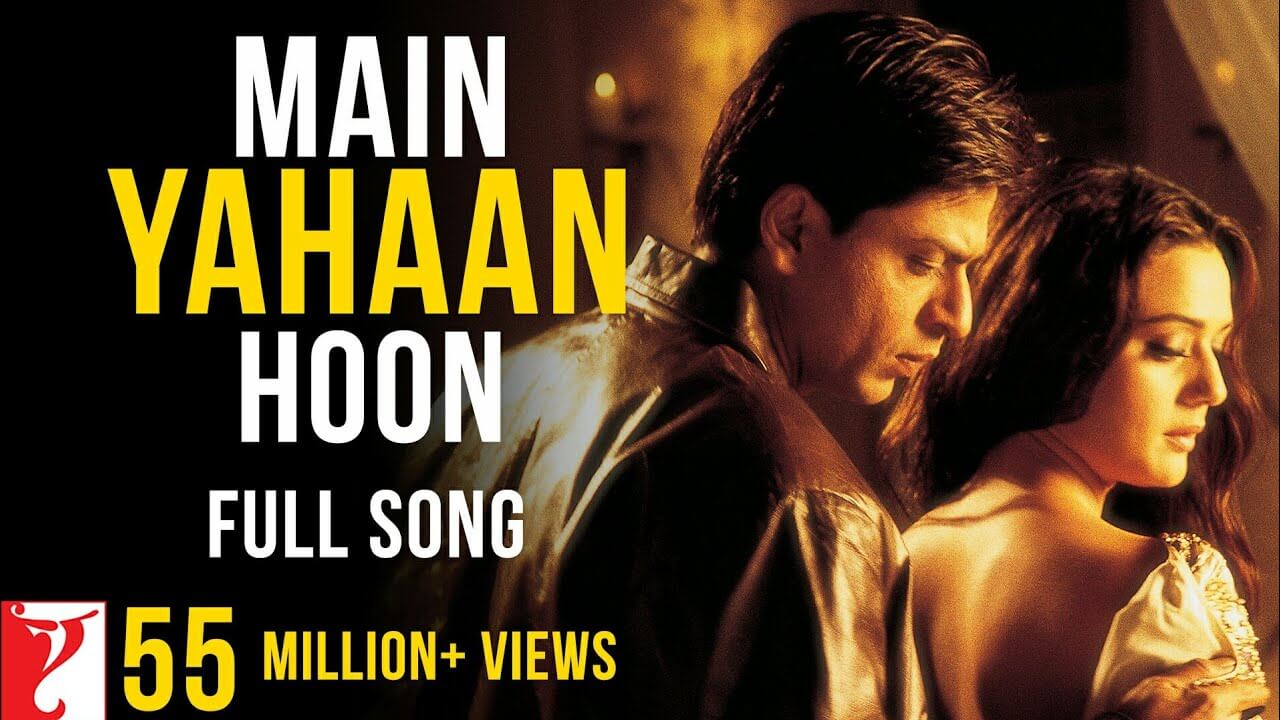 main yahaan hoon lyrics in hindi