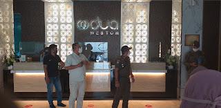 Hotel Odua Weston Kota Jambi Didapati Tim Gugus Tugas Covid-19 Telah Melanggar Prokes.