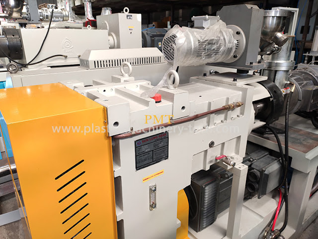 Conical Twin Screw Extruder, Double Screw Extruder, Screw Plastic Extruder
