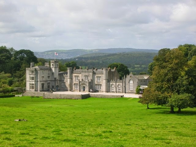 Leighton Hall - filming location of The Dancing Men, in which it was Ridling Thorpe Manor