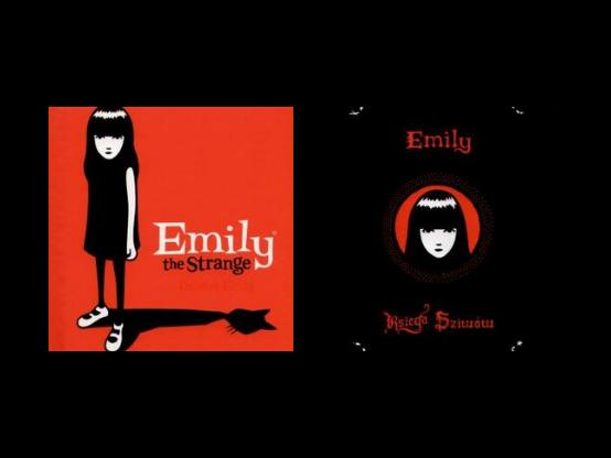 Emily the Strange. Dziwna Emily/Emily. Tajna księga Dziwów Rob Reger