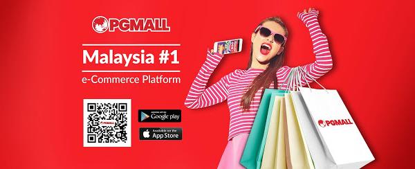 Jom shopping di PG Mall : Semua di hujung jari