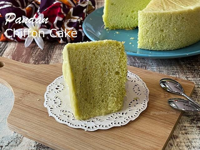 Pandan Cake 斑斓蛋糕