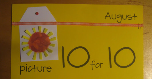 The Countdown to August's Picture Book 10 for 10 Event Begins
