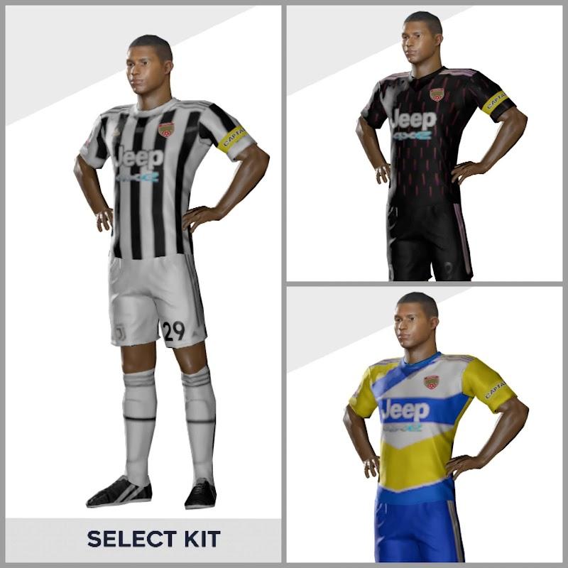 Kit Juventus 2022 DLS & Logo Dream League Soccer 2021