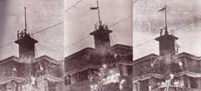 Insiden Perobekan Bendera Belanda di Hotel Yamato 19 September 1945
