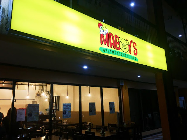 Maboy's Food House Restaurant Talamban