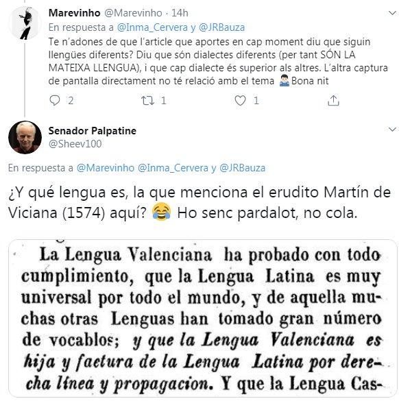 Martín de Viciana, Lengua Valenciana