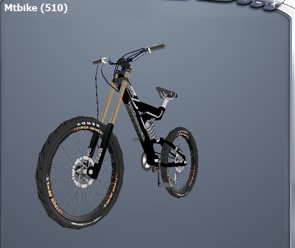 GTA San Andreas - Downhill Bike Trailer - GTA San Andreas City