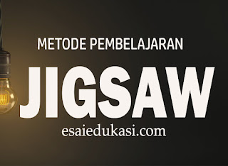 metode pembelajaran jigsaw