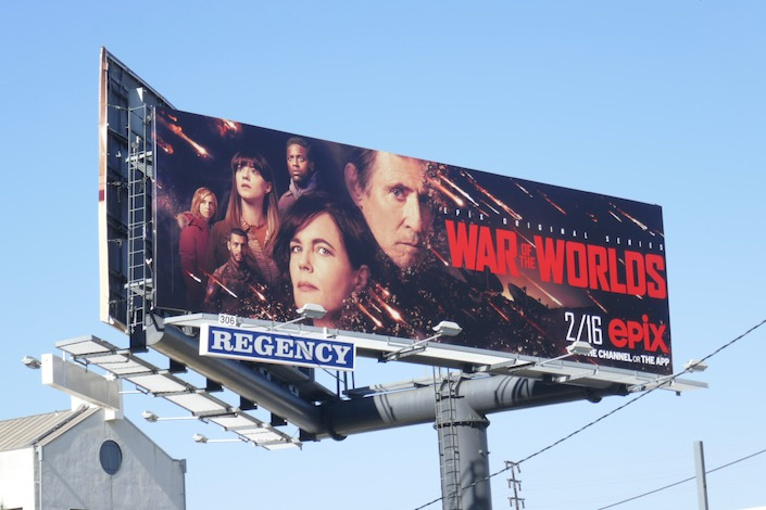 War of the Worlds series premiere billboard